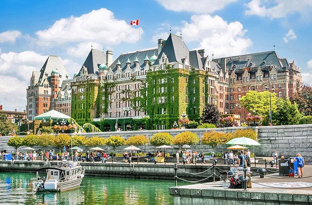 بندرگاه داخلی ویکتوریا کانادا