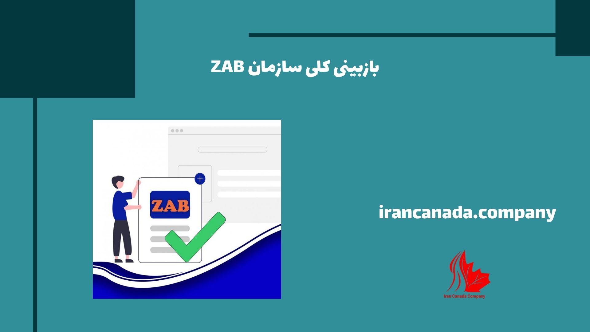 بازبینی کلی سازمان ZAB